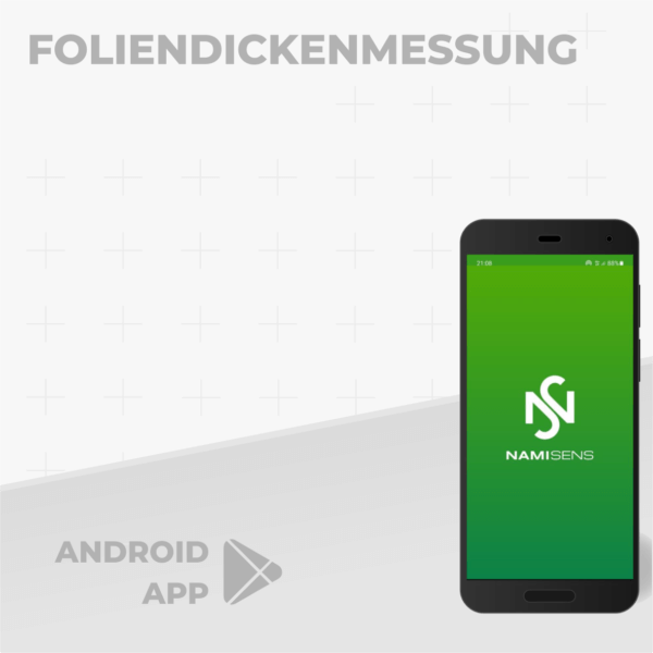 Android App: Foliendickenmessung